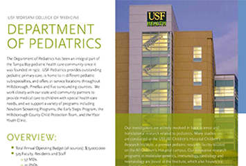 Pediatrics Annual Report 2014