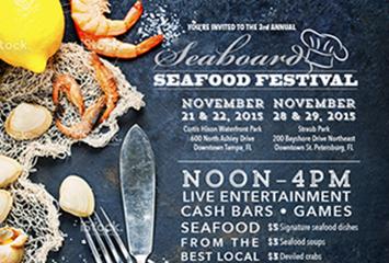 Seafood Festival Evite