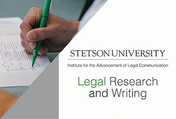 Stetson Law Legal Writing Promotion