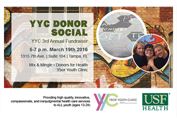 Ybor Youth Clinic Brochure & Invitation
