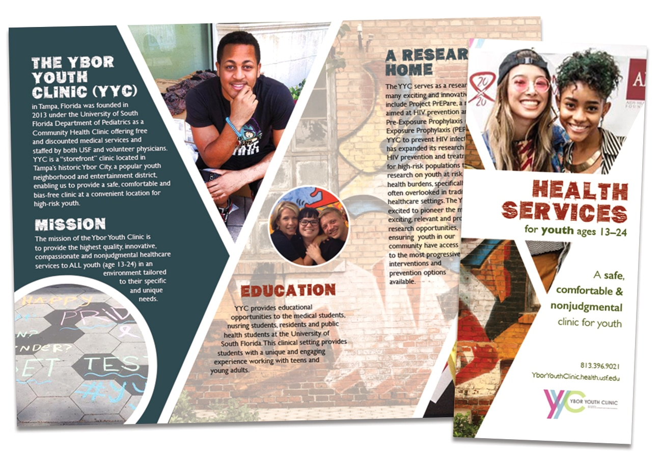 Ybor Youth Clinic Brochure