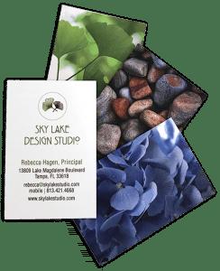 Sky Lake Studio business cards