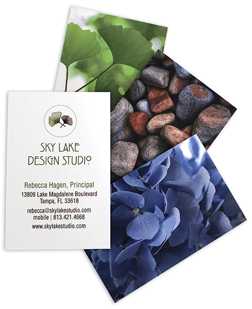 Sky Lake Studio business cards