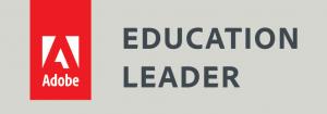 Adobe Education Leader badge