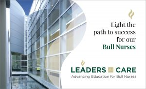 USF College of Nursing Leaders in Care campaign