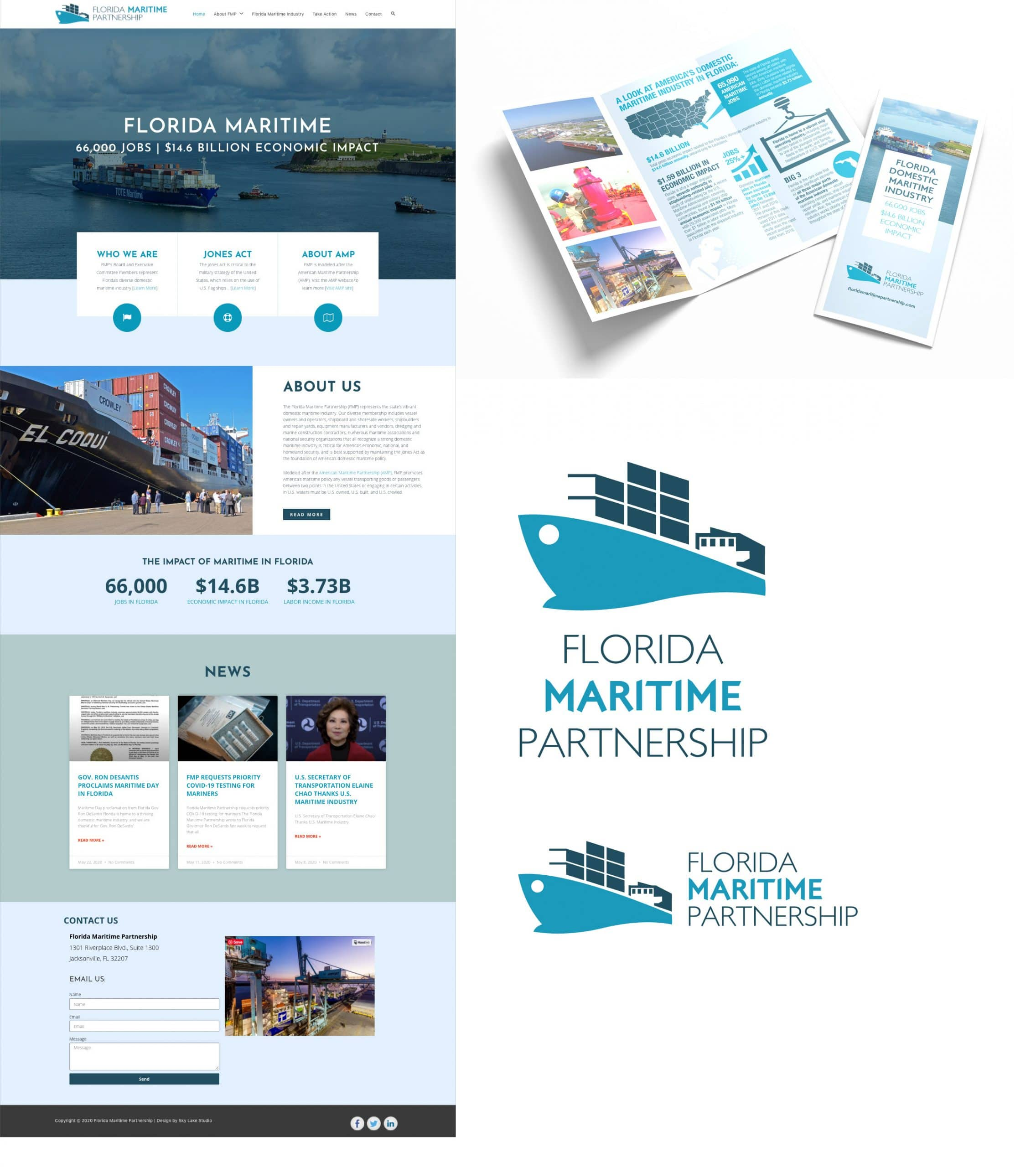 Florida Maritime Partnership design work