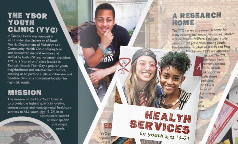 Ybor Youth Clinic Brochure design